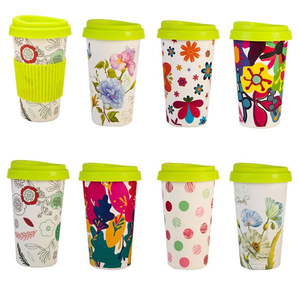 16OZ Bamboo Fiber Coffee Cups