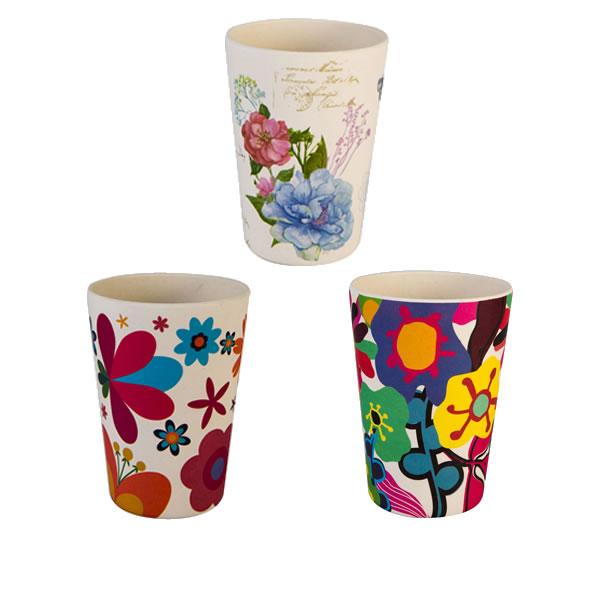 9OZ Biodegradable Bamboo Fiber Cups