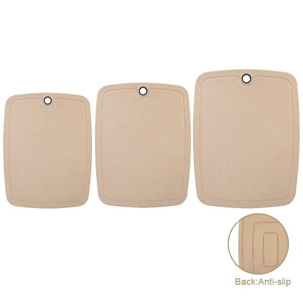 Anti-slip Straw Fiber Cutting Boards
