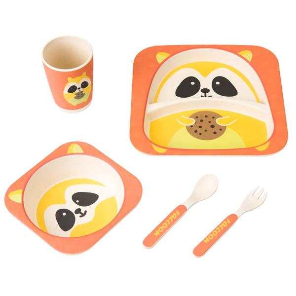 Bamboo Baby Meal Dinner Set Dish Set
