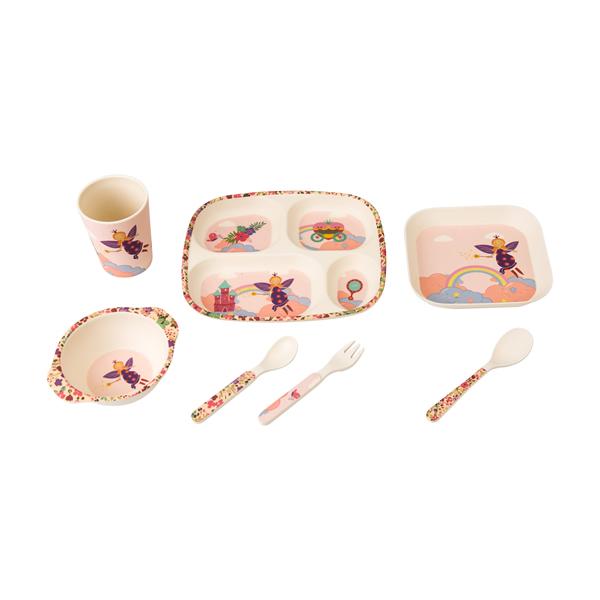 Bambooware Kids Dinnerware Set