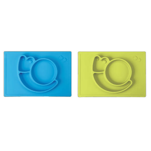 Square Snail Baby Silicone Placemats