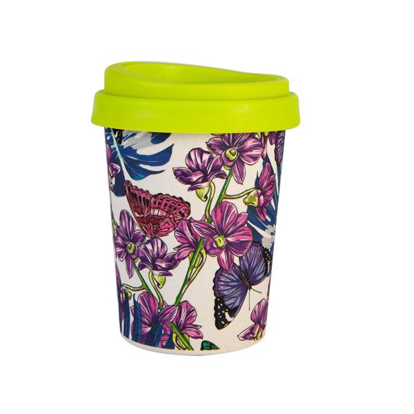 12OZ Biodegradable Bamboo Fiber Coffee Cup K28502M#6506