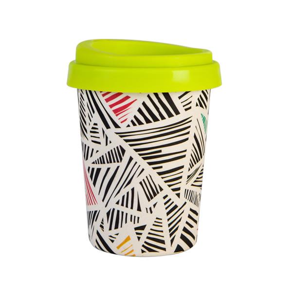 Reusable Bamboo Fiber Travel Coffee Mug K28502M#6402